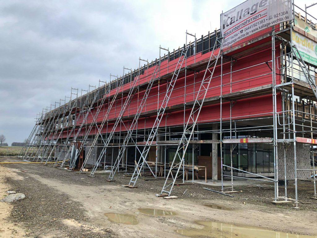 Baubegehung Neubau Feuerwehrhaus