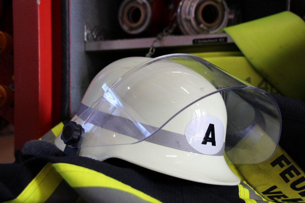Helmkennzeichnungen bei der Feuerwehr