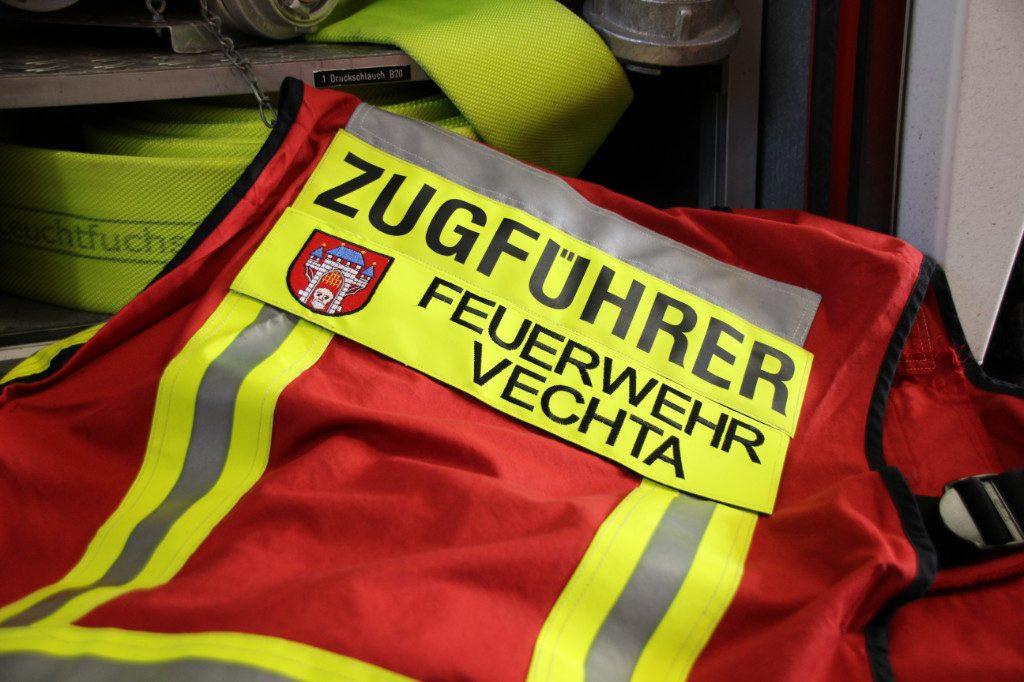 Funktionswesten bei der Feuerwehr