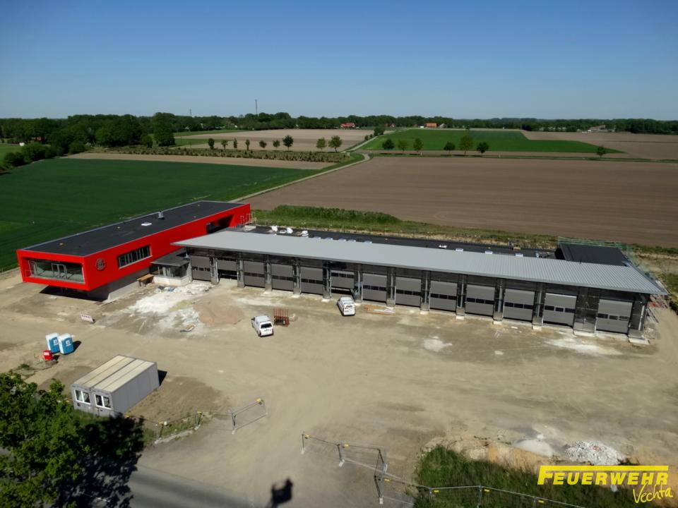 Update Neubau Feuerwehrhaus