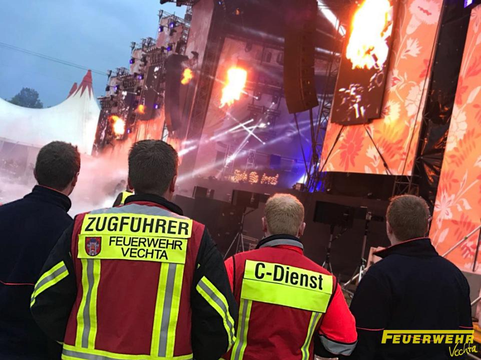 Brandsicherheitswachdienst, Tanta Mia tanzt Festival