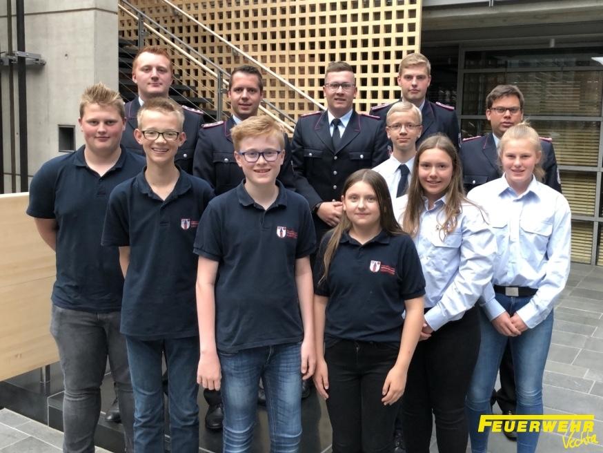 Mitgliederhauptversammlung Jugendfeuerwehren Stadt Vechta