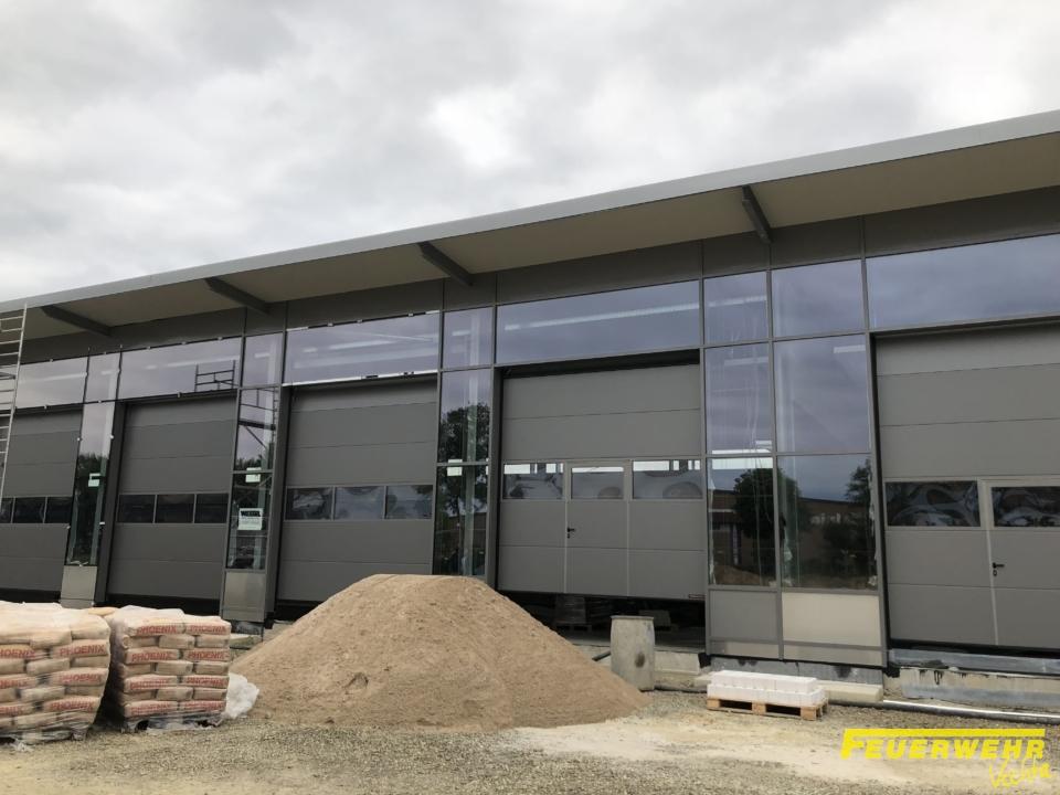 Baufortschritt neues Feuerwehrhaus