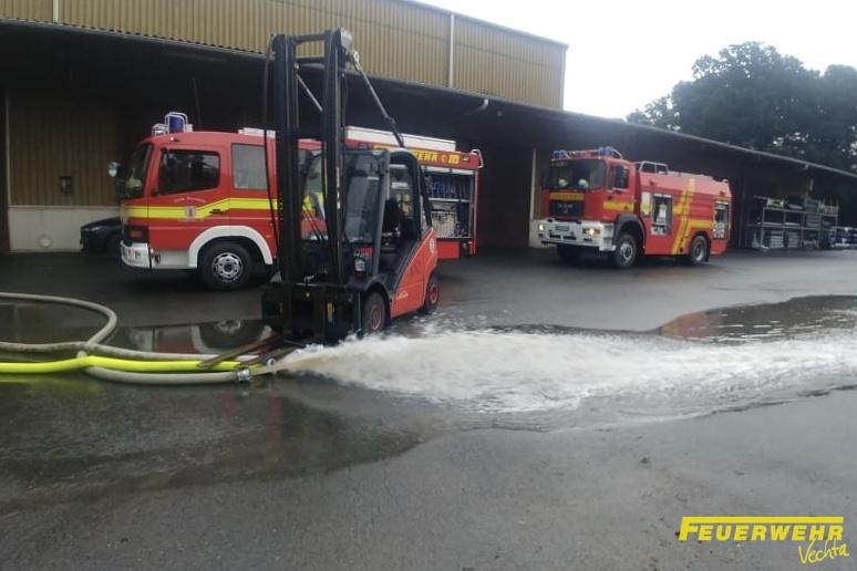 Sturmschaden, Wassereinbruch in Gebäude