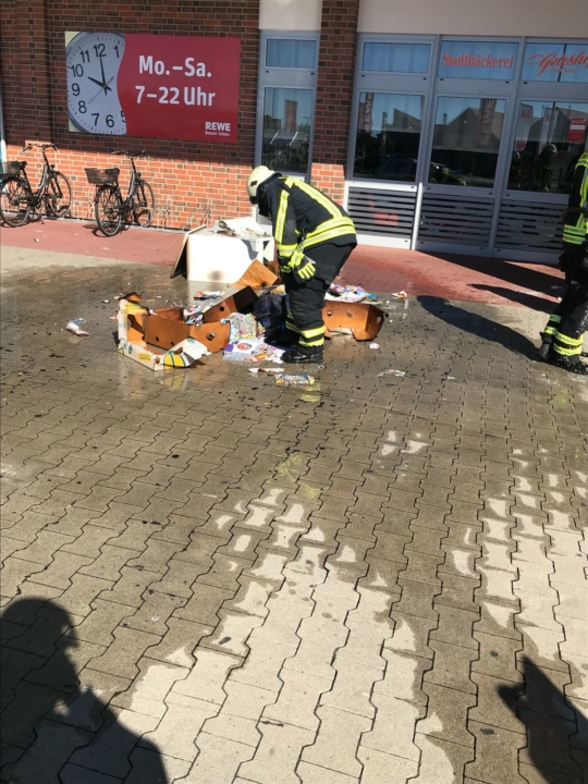 Mülltonnenbrand