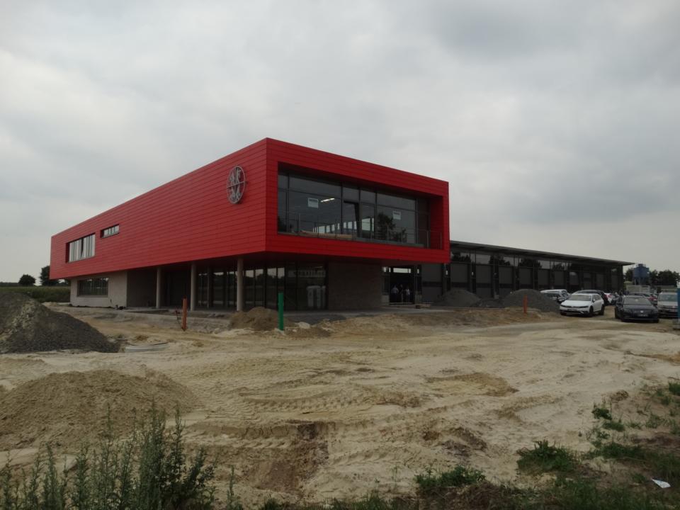 Baufortschritt zum neuen Feuerwehrhaus