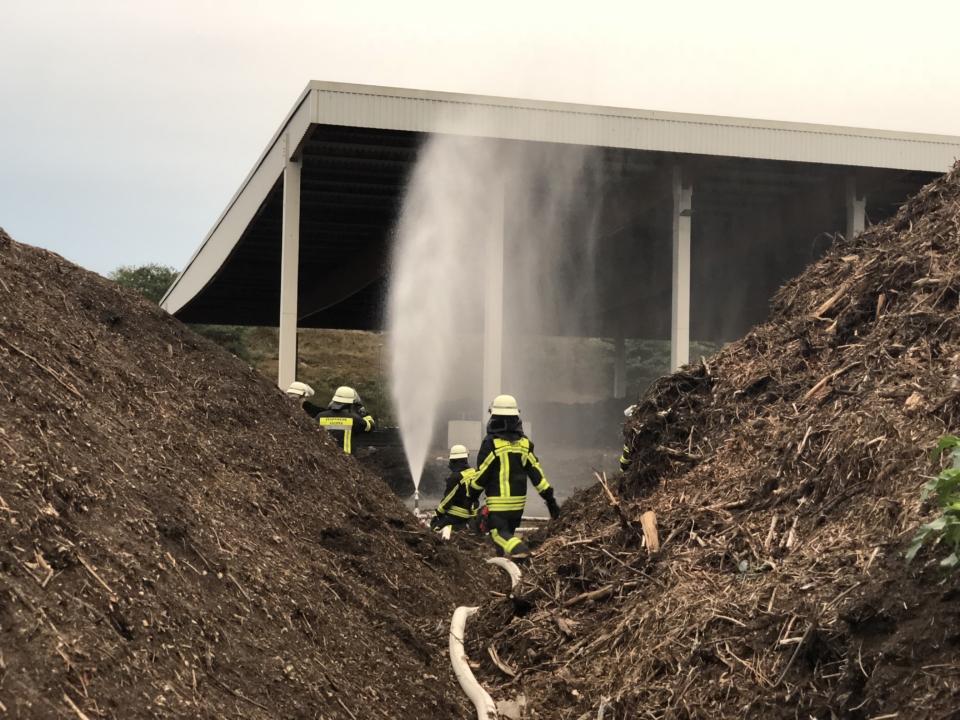 Komposthaufenbrand