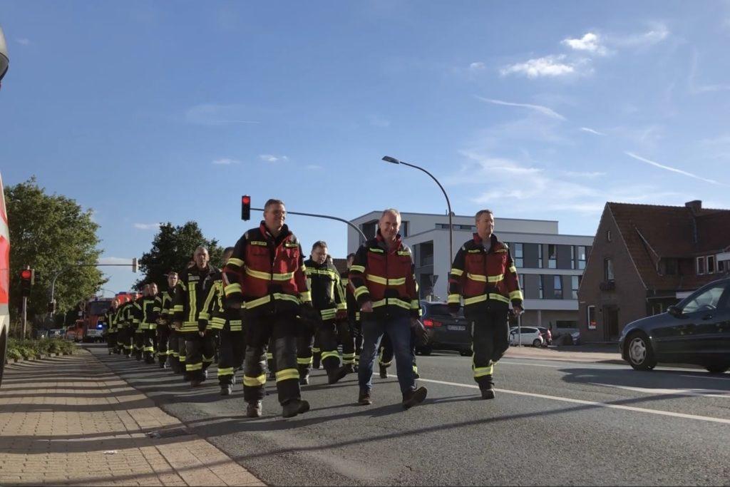 Umzug ins neue Feuerwehrhaus